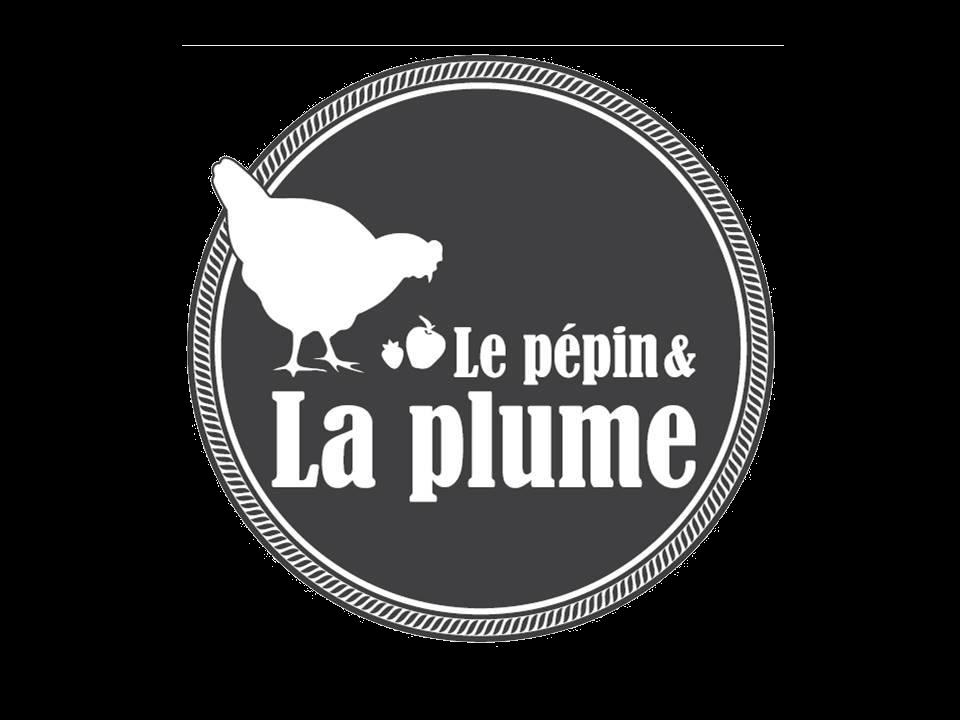 Le Jardin d'Hiver - Logo Pépin et la plume